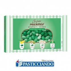 Selling on-line of Confetti sfumato verde 1kg