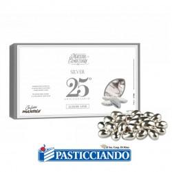 Selling on-line of Confetti al cioccolato argentati 500gr Maxtris