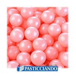 Vendita on-line di Perle rosa perlate 80gr Modecor