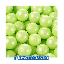 Vendita on-line di Perle verdi perlate 80gr Modecor