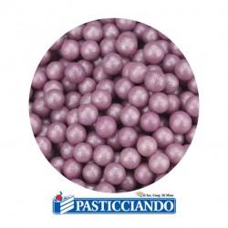 Selling on-line of Perle in zucchero lilla 60gr GRAZIANO