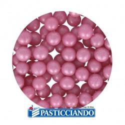 Vendita on-line di Perle in zucchero rosa 60gr GRAZIANO