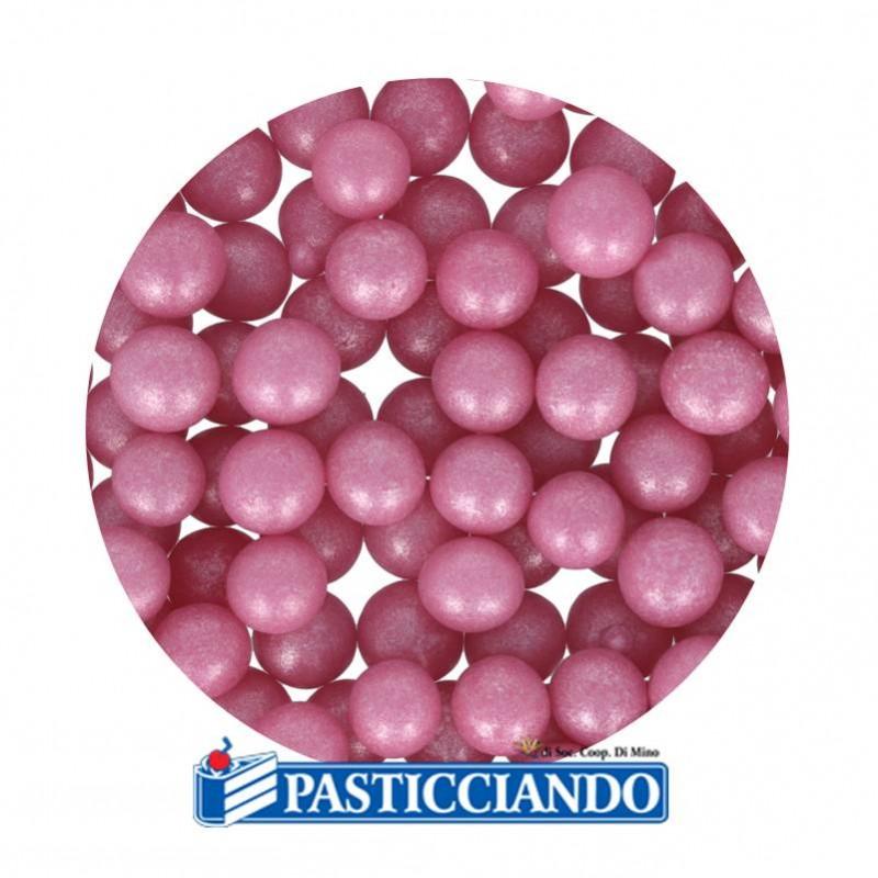 Perle in zucchero rosa 60gr - GRAZIANO