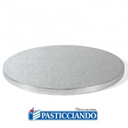 Selling on-line of Sottotorta bakery rotondo argento d.40 h1,2 cm