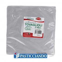 Selling on-line of Tovaglioli argento 33x33 GRAZIANO