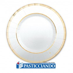 Selling on-line of Piattini classic oro metal D.20 Big Party