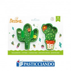 Selling on-line of Set 2 tagliapasta cactus Decora