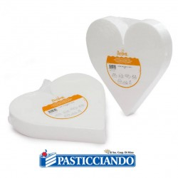 Selling on-line of Cuore in polistirolo D20 H7,5 cm