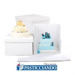 Vendita on-line di Box per dolci 36x36 H25 Decora