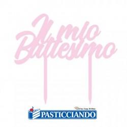 Selling on-line of Topper Il mio Battesimo rosa plexiglass GRAZIANO