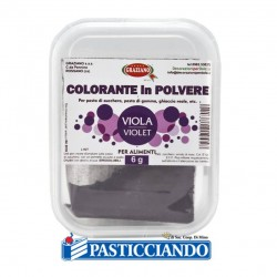 Selling on-line of Colore in polvere viola 6gr