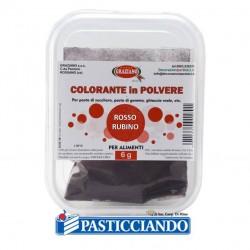 Vendita on-line di Colore in polvere rosso rubino 6gr GRAZIANO