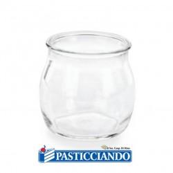 Vendita on-line di Vasetto monoporzione finger food con tappo