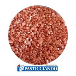 Vendita on-line di Cristalli di zucchero rosa gold 100gr