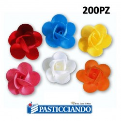 Selling on-line of Rosellina in ostia per colore 200pz
