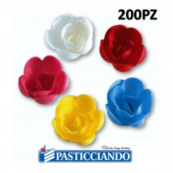 Selling on-line of Rosa piccola in ostia 200pz Floreal