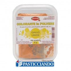 Selling on-line of Colore in polvere giallo limone 6gr