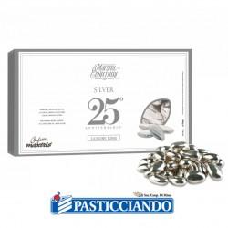 Selling on-line of Confetti mandorla Royal argento 500gr Maxtris