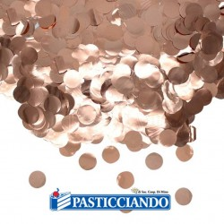 Selling on-line of Coriandoli rosa gold 50gr Big Party