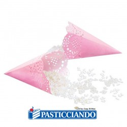Selling on-line of Coni portariso rosa 12pz Big Party