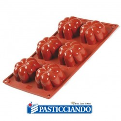 Selling on-line of Stampo in silicone Charlotte 6 cavità FR077 Pavoni