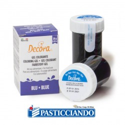 Selling on-line of Gel colorante blu intenso Decora