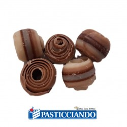 Vendita on-line di Riccioli al triplo cioccolato 55gr Innovaction Italia