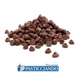 Vendita on-line di Gocce di cioccolato nero 200gr Innovaction Italia