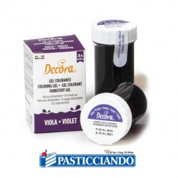 Selling on-line of Gel colorante viola intenso Decora