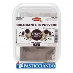 Selling on-line of Colore in polvere marrone cioccolato 6gr