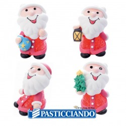 Selling on-line of Babbo Natale in zucchero e gelatina Ambra's