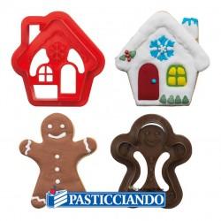 Selling on-line of Set tagliapasta casetta e gingerbread Decora