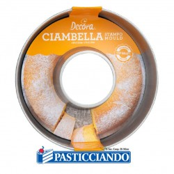 Selling on-line of Stampo ciambella savarin D.28