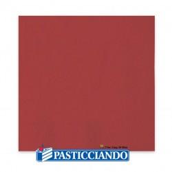 Selling on-line of Tovaglioli Ecolor rossi 33x33 2 veli 40pz Big Party