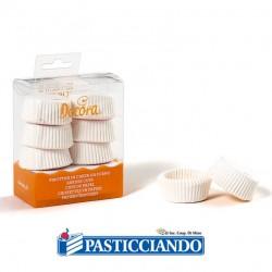 Selling on-line of Pirottini tartellette bianchi 120pz Decora