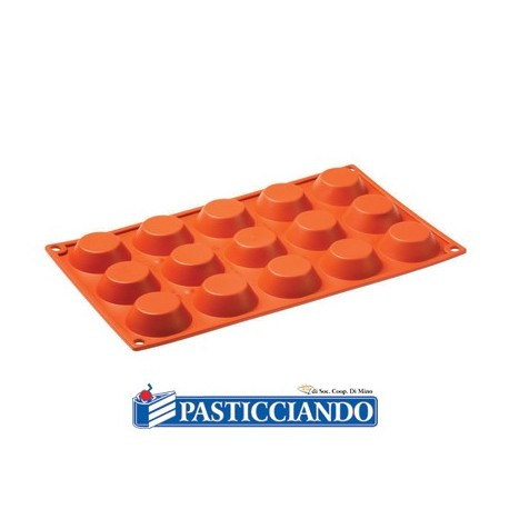 Stampo in silicone tartellette FR016 - Pavoni
