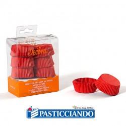 Selling on-line of Pirottini tartellette rossi 120pz Decora
