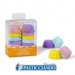 Selling on-line of Pirottini mini muffin pastello 200pz
