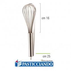 Selling on-line of Frusta in acciaio inox 25cm Decora