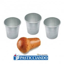 Selling on-line of Stampo babà 6cm 3pz GRAZIANO