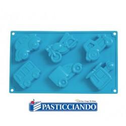 Stampo in silicone veicoli Pavoni in vendita online
