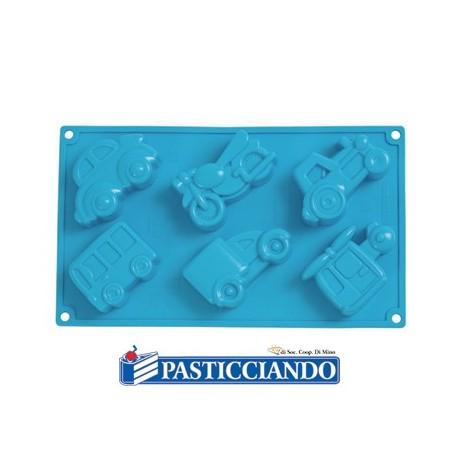 Stampo in silicone veicoli - Pavoni