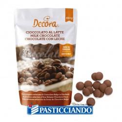 Selling on-line of Dischi cioccolato al latte Decora