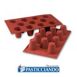Selling on-line of Stampo in silicone babà D.4,5 11 cavità Martellato