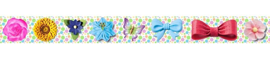 Fiori Fiocchi e Farfalle di zucchero in vendita online