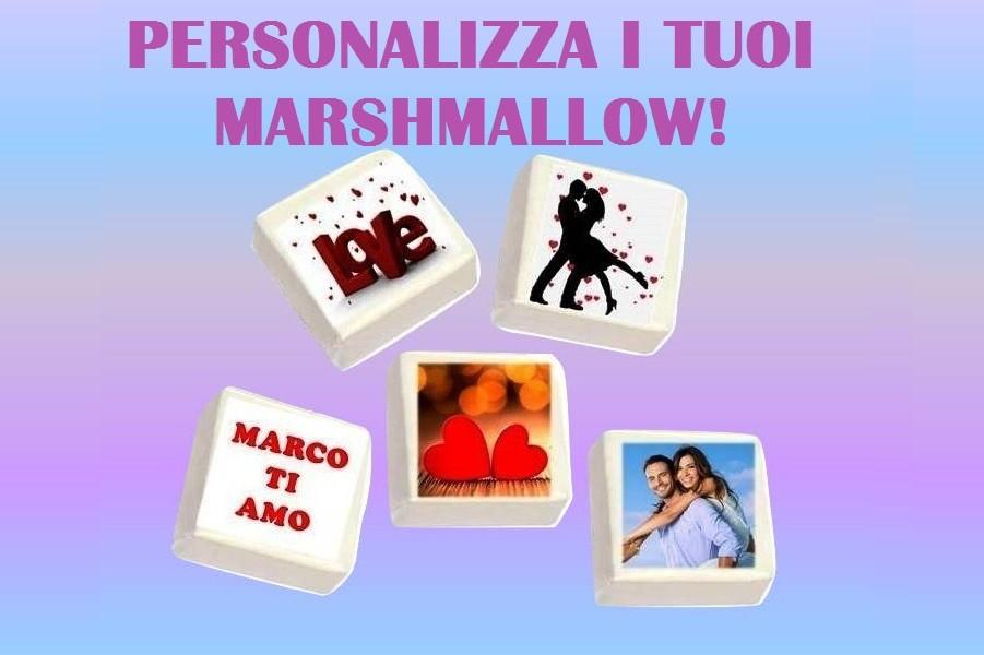 Marshmallow personalizzati!